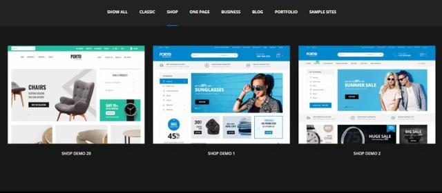 Шаблоны для Интернет магазина в Туркменистане на Porto